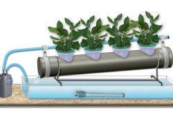 Схема гідропонних системи