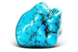 Необроблений камінь іранської бірюзи