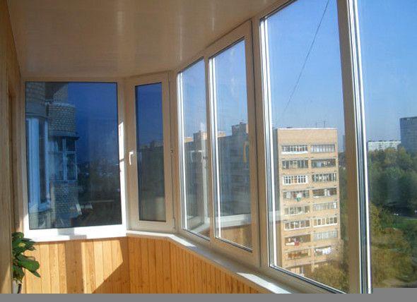 Фото - Види скління балконів