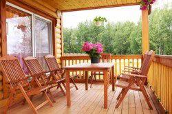 деревяна тераса