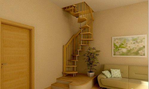 Фото - Гвинтові сходи - поєднання компактності, елегантності і функціональності