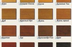 кольори деревини