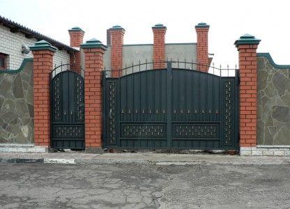 Фото - Ворота і хвіртка своїми руками