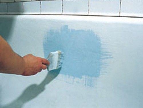 Реставрація ванн - як відновити емаль ванни