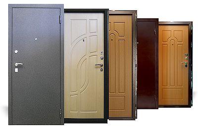 Можливі матеріали для обробки дверей