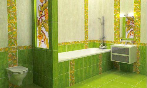 Фото - Можливі варіанти укладання плитки у ванній