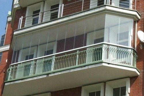 Фото - Зведення балкона з полікарбонату