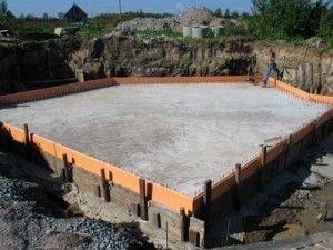 Фото - Зведення плитного фундаменту