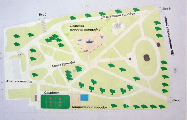 Зведення садів і парків: основні принципи