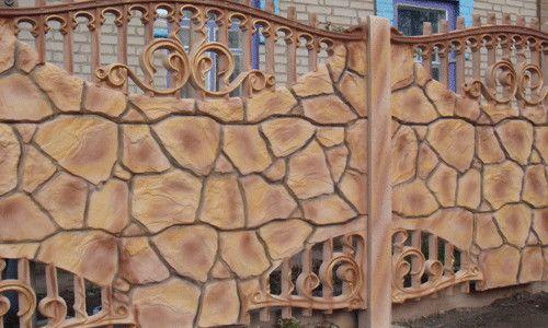 Фото - Повертаємо бетонний паркан до життя