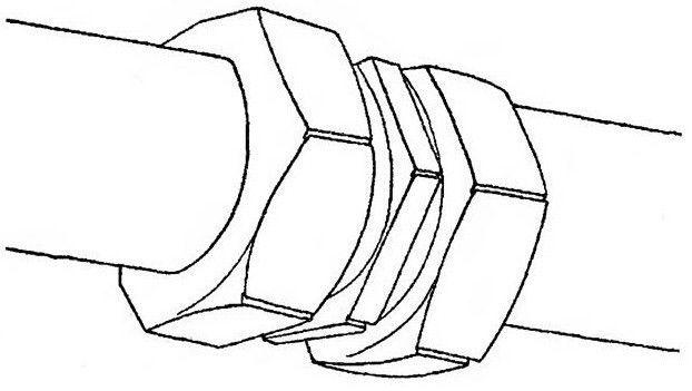 Найбільш відомі зєднання труб: метричний, дюймовое, трапецієподібно, трубне циліндричне, метричний конічний, завзяте і т.д.