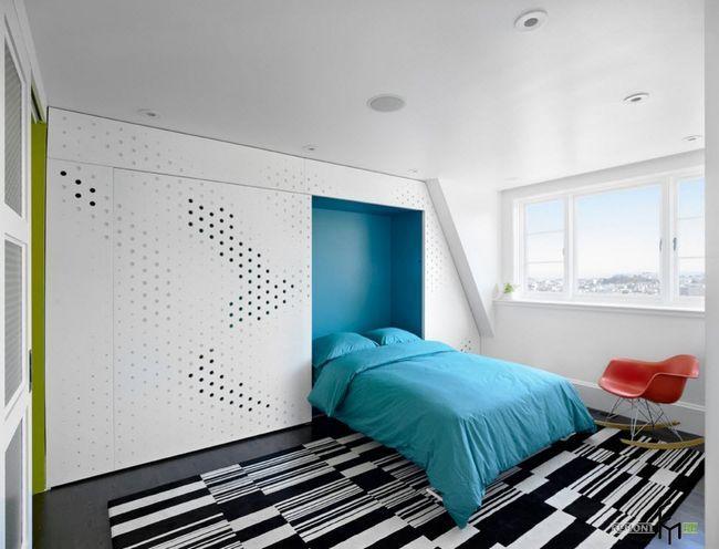 Фото - Вбудована ліжко: функціональність і практичність