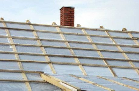 пароізоляція даху