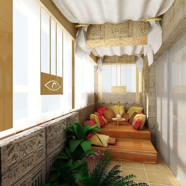 Фото - Вибір дизайну для лоджії або балкона