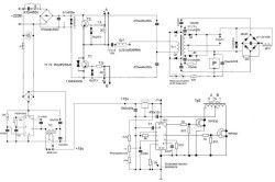Електросхема зварювального бензогенератора
