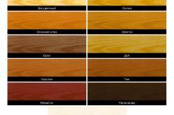 Фото - Вибір матеріалу для фарбування зрубу