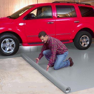 Фото - Вибір підлог в гаражі