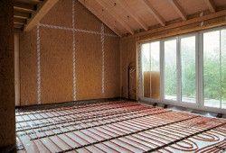 Вибір труб і підстави для поверхні теплих підлог