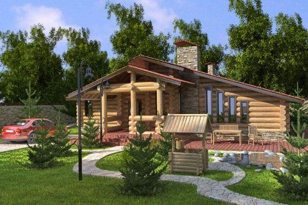 Ділянка землі з будинком як майно