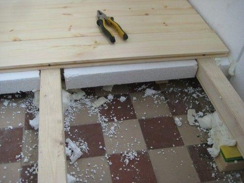 Фото - Виконання стяжки підлоги з пінопластом