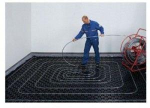 Фото - Виконуємо монтаж теплої підлоги водяного самі