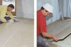 Суха стяжка підлоги