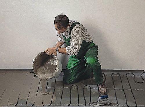 Заміна дерев'яної підлоги на бетонний