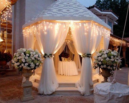 Святкові декоративні штори з прозорих, газових тканин