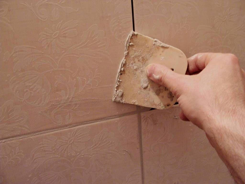 Фото - Затирка швів у ванній кімнаті