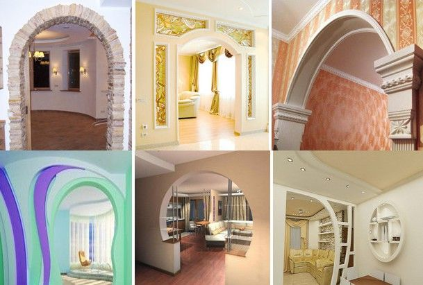 Фото - Значимість арок з гіпсокартону в інтер'єрі і спосіб їх виготовлення