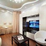 Приклади зонування кімнати для гостей