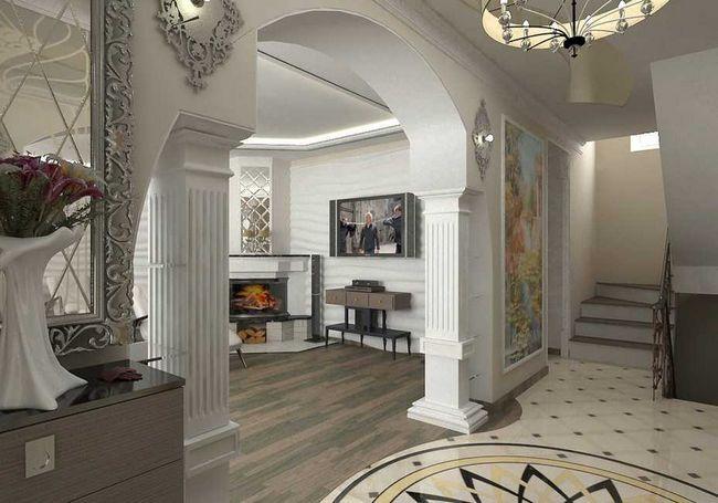 Вітальня-коридор