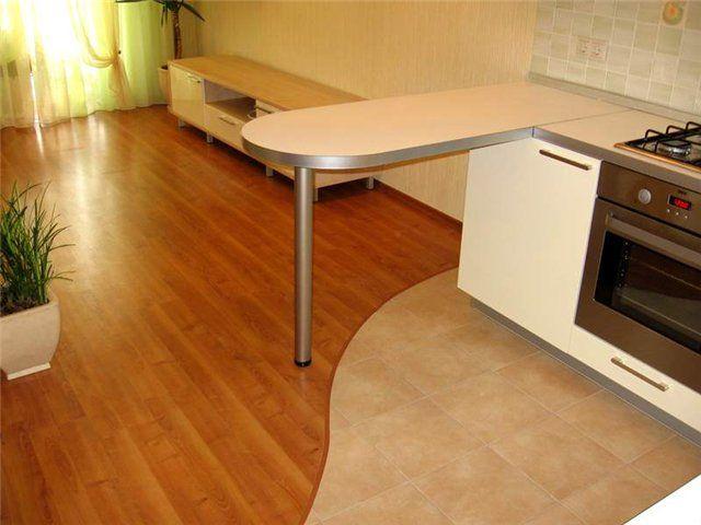 Фото - Зонування простору: комбіновані підлоги для кухонь і прихожих